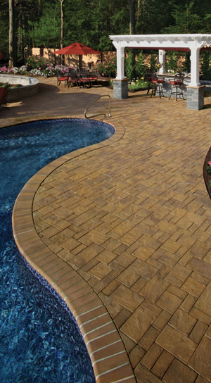 cambridge pavingstones - planning a pool deck? the wide selection
