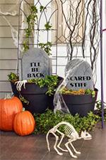 DIY Halloween Patio Decorations