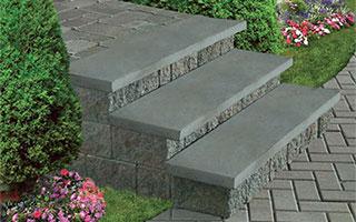 Cambridge Pavingstones Cast Stone Caps Amp Stairs