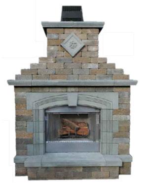 Fireplaces Cambridge Pavingstones Outdoor Living