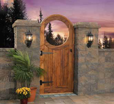Garden Gate Kit Cambridge Pavingstones Outdoor Living