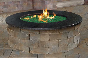 Cambridge Pavingstones Fire Tables Fire Pit Kits