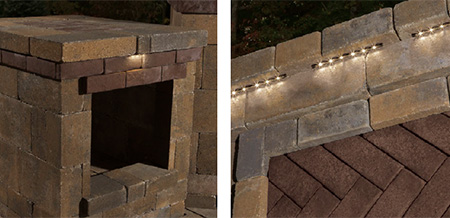 Hardscape Lighting Cambridge Pavingstones Outdoor Living