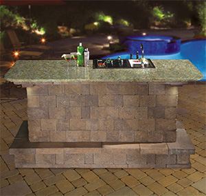 cambridge pavingstones cambridge bar module kit
