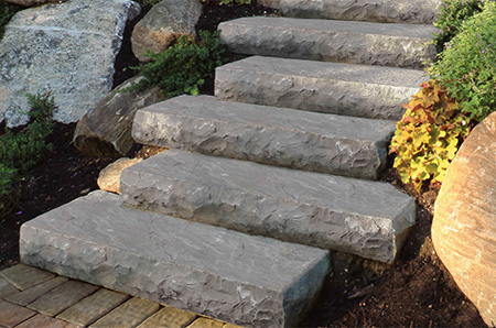 Steps Amp Stairs Cambridge Pavingstones Outdoor Living