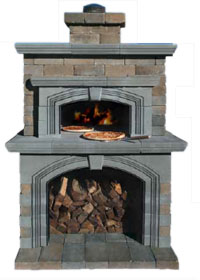 Bon Olde English Wall Pizza Oven