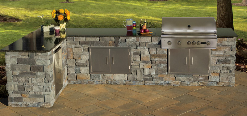cambridge fully assembled outdoor kitchen. Interior Design Ideas. Home Design Ideas