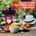 Backyard Mother's Day Brunch