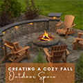 Creating a Cozy Fall Outdoor Space