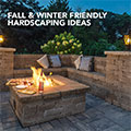 Fall/Winter Hardscaping Ideas
