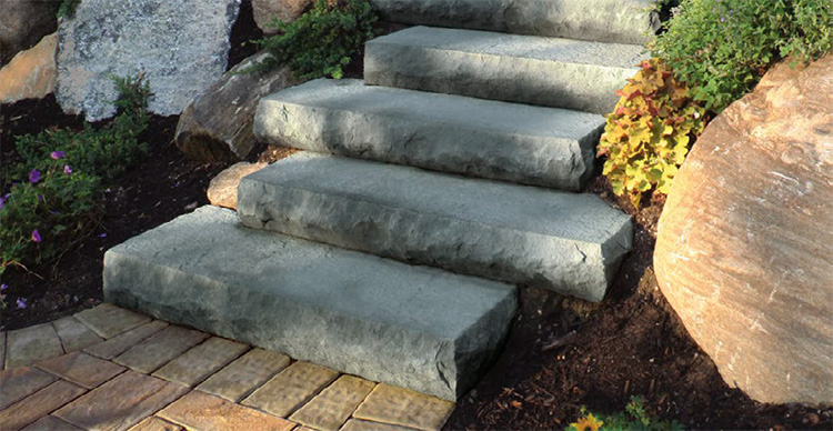 Cambridge Cast Stone Steps