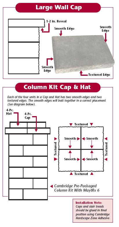 Caps & Columns | Cambridge Pavingstones - Outdoor Living
