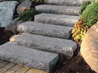 Natural Stone Caps, Treads & Steps