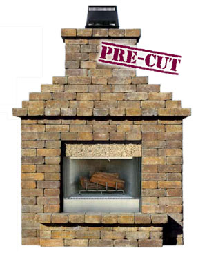 Fireplaces Cambridge Pavingstones Outdoor Living Solutions With