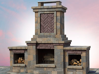 Prime Fireplaces Cambridge Pavingstones Outdoor Living Home Interior And Landscaping Mentranervesignezvosmurscom