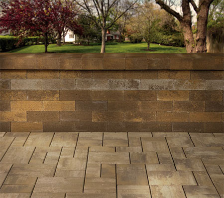 Olde English Wall | Cambridge Pavingstones