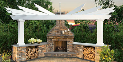 Pergolas Cambridge Pavingstones Outdoor Living Solutions With