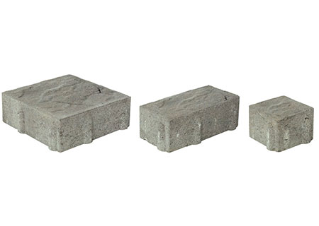 Ledgestone Permeable 3-Pc. Design Kit<br>3 1/8 Thick<br>4 1/2 x 4 1/2<br>4 1/2 x 9<br> 9 x 9