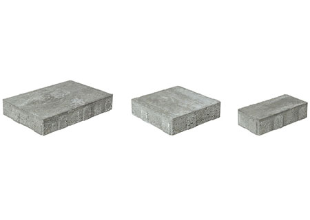 Ledgestone Smooth 3-Pc. Design Kit<br>9 3/32 x 13 5/8<br>9 3/32 x 9 3/32<br>4 17/32 x 9 3/32